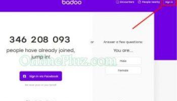 Badoo Login sign up badoo sign in badoo login badoo com pluz
