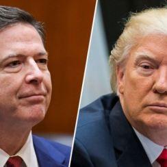 President Trump Sacks FIB Director Jame Comey