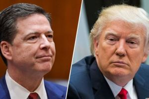 President Trump Sacks FIB Director Jame Comey