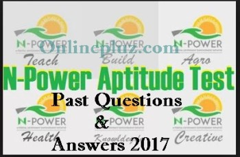 nPower.gov.ng Test Past Questions