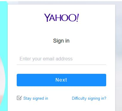 Yahoomail.com Login