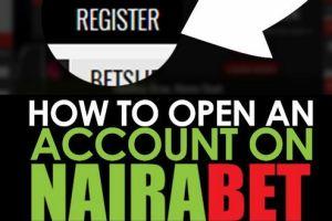 NairaBet Registration