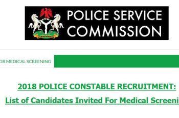 NPF Recruitment 2018 List of Successful Candidates