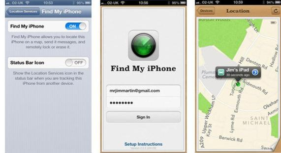 find your lost iPhone with
