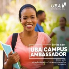 UBA Campus Ambassador Programme 2019