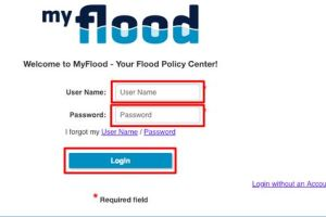 My Flood Insurance Login
