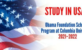 Obama Foundation Scholars Program