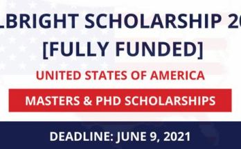 2022 Fulbright Scholarship Application