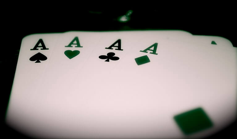 Three Aces.
