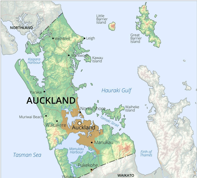 Auckland Map