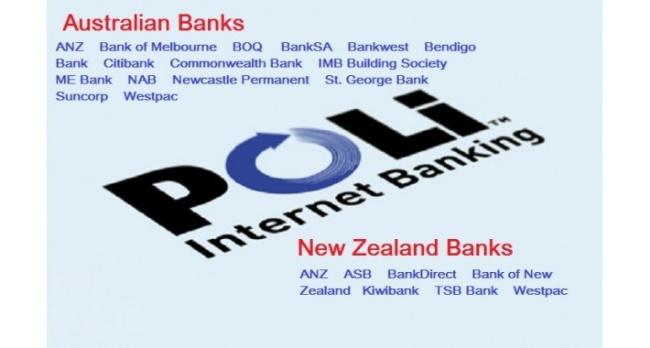 Banks with POLi Facility