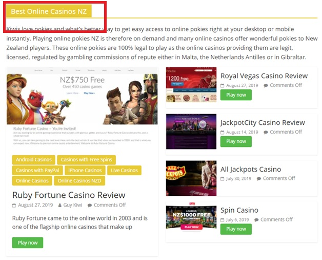 What are the best online casinos?