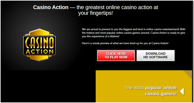 Casino Action Getting started