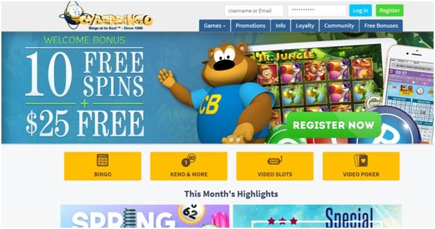 Cyber-bingo-no-deposit-No Deposit Bingo Sites in NZ to play Bingo online