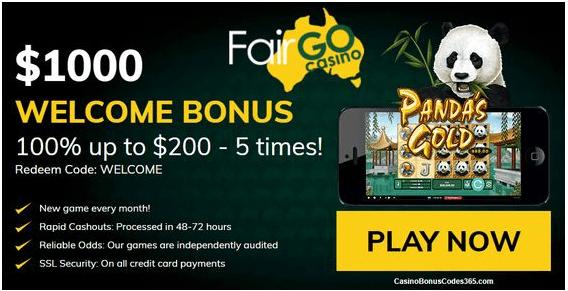 Fair go casino - Play pokies with real money