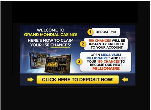 Grand Mondial Casino bonuses