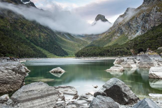 Lake Mackenzie, Fiordland National Parkc