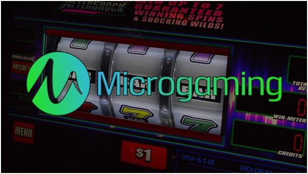 Microgaming scratchie