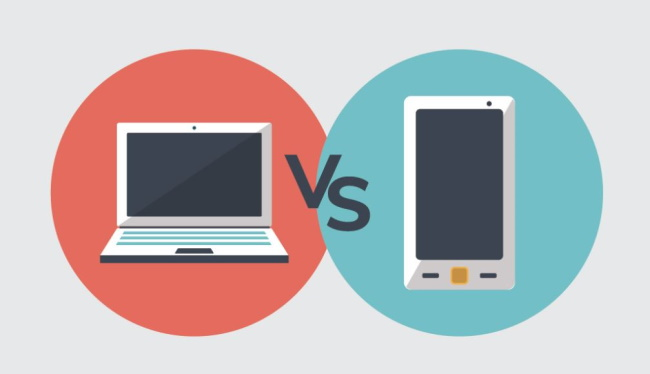 Mobile Devices vs. Computers