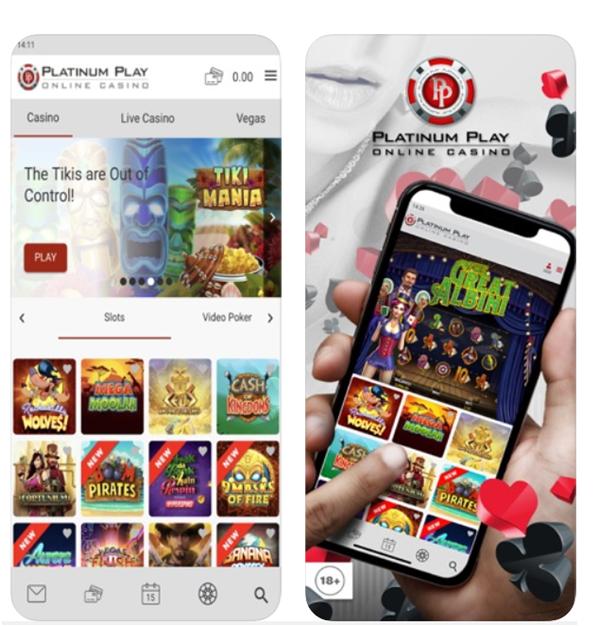 Platinum play casino mobile app