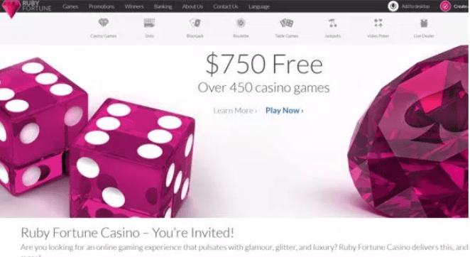 Ruby Fortune Casino NZ casino