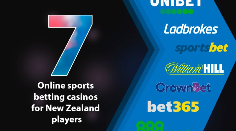 Seven online sports betting casinos for New Zealand players