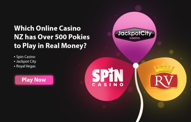 Which Online Casino NZ has Over 500 Pokies to Play in Real Money