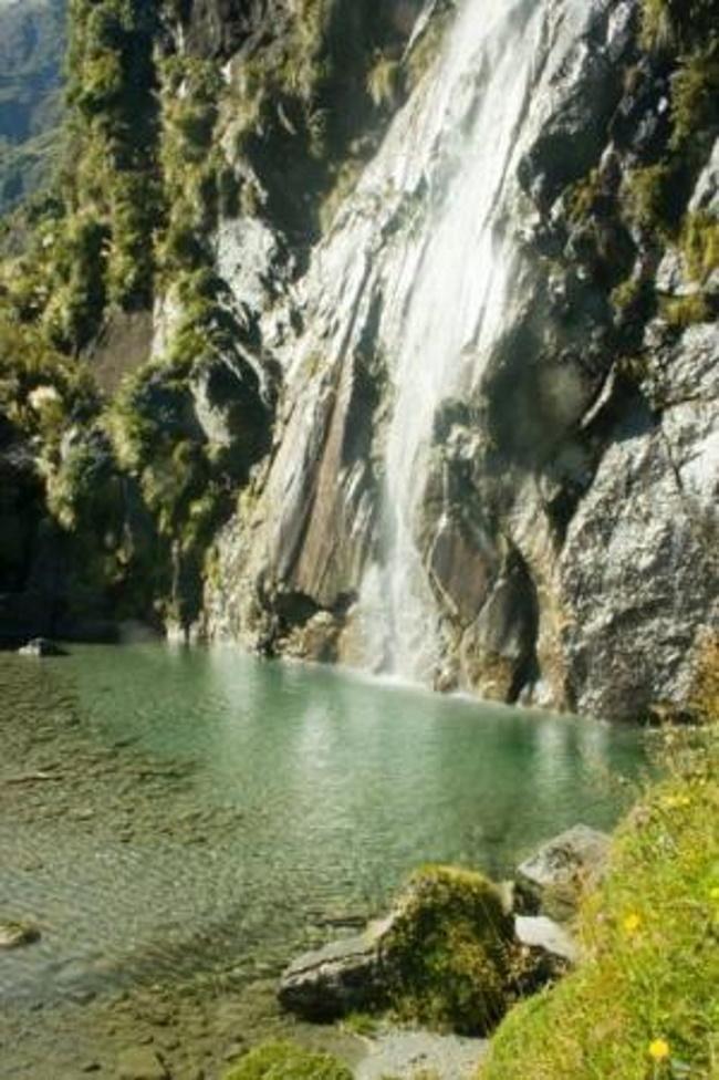 Wishbone Falls, Mount Aspiring