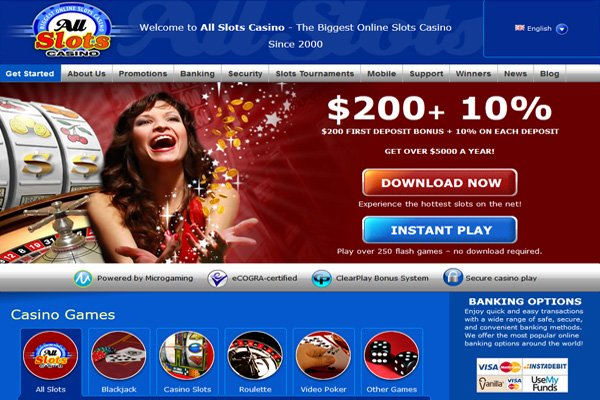 All Slots Casino Gameall slots casino games for NZ playerss