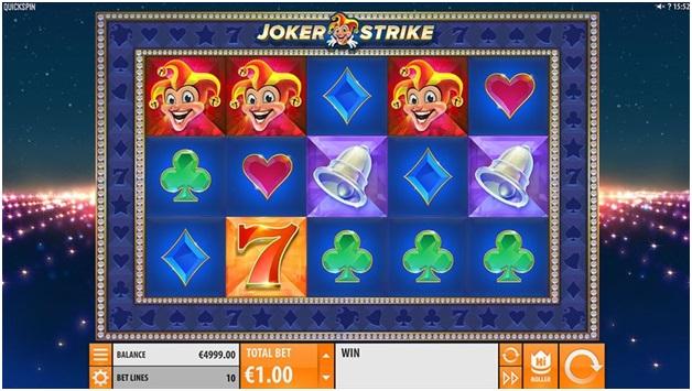 joker strike pokies that pay