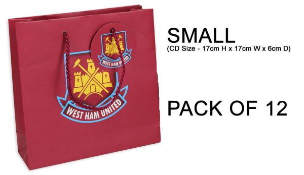 West Ham United Gift Bags Official Club Merchandise Party Bags Football Bags