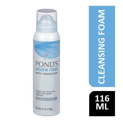 PONDS PRISTINE REFRESHING CLEAN CLEANSING FOAM 116G