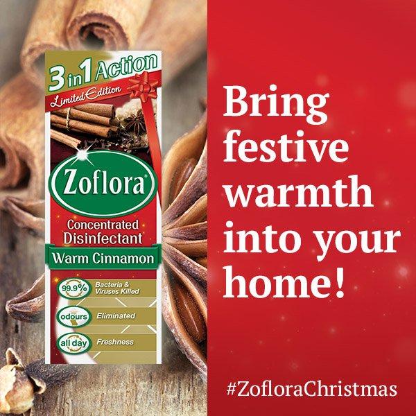 Zoflora Limited Warm Cinnamon 120ML