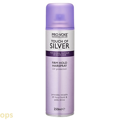 Touch of Silver Firm Hold Hairspray 250ml