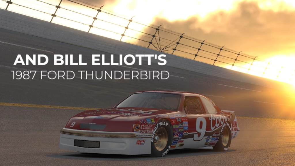 Bill Elliott's 1987 Ford Thunderbird