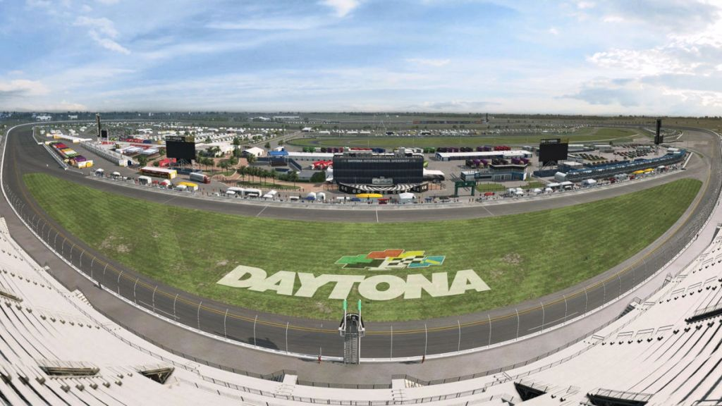 Daytona International Speedway is now available in RaceRoom