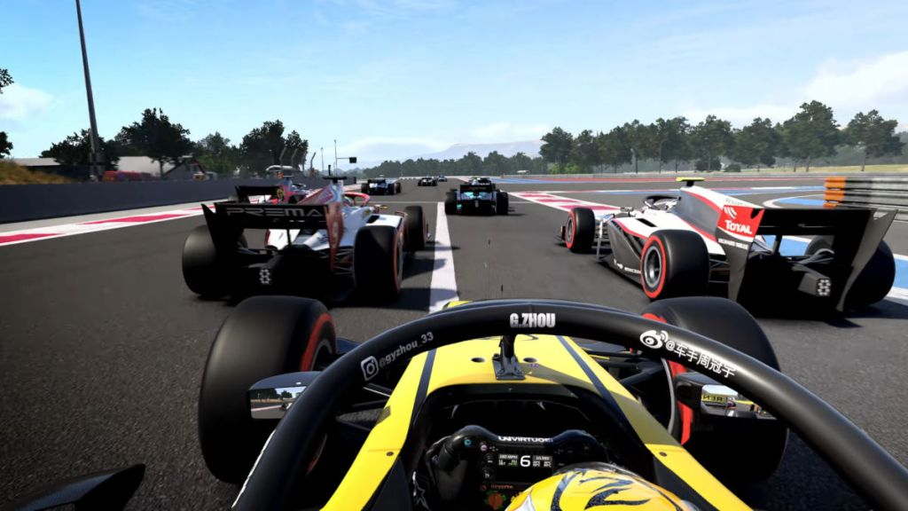 The F1 2020 career mode fully integrates Formula 2 for the first time