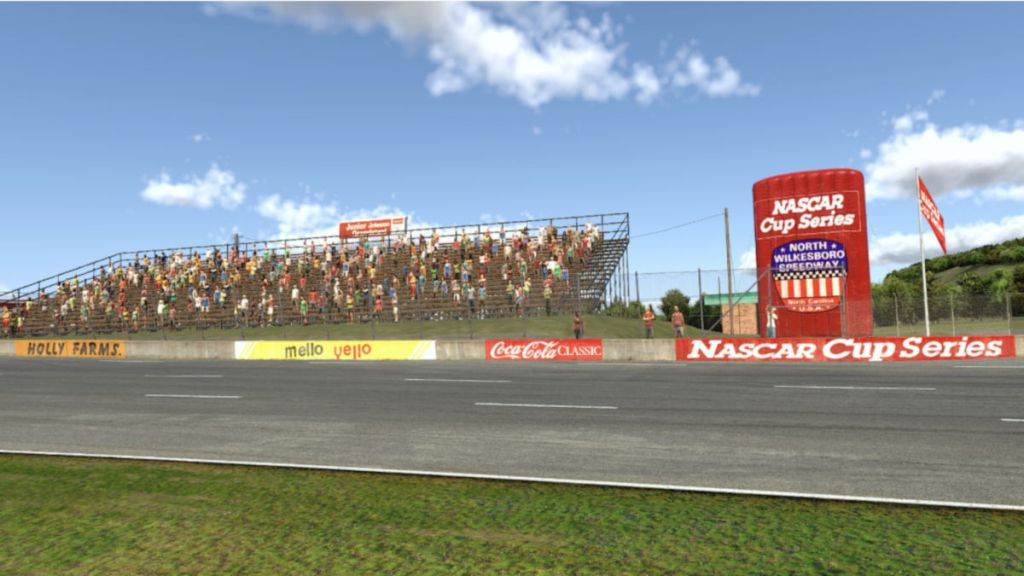 Take a trip back to 1987 with North Wilkesboro Speedway in iRacing