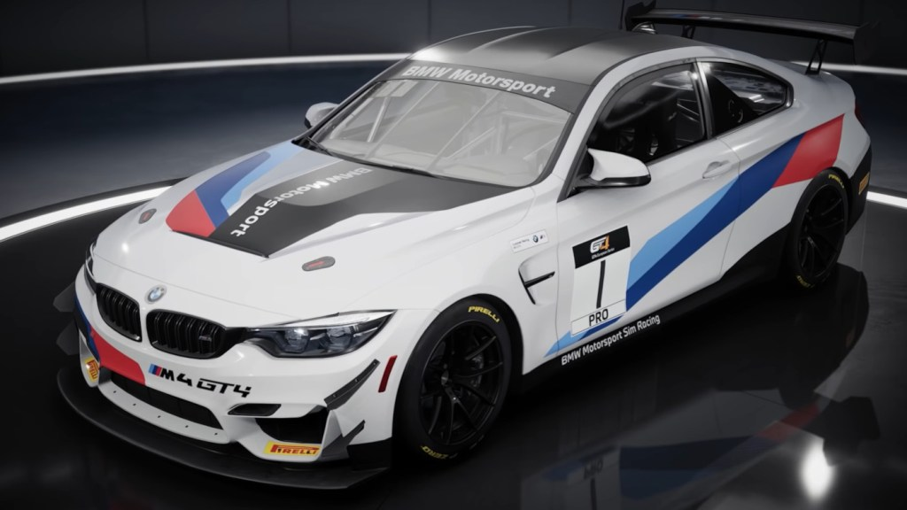 The BMW M4 GT4 certainly looks good in Assetto Corsa Competizione