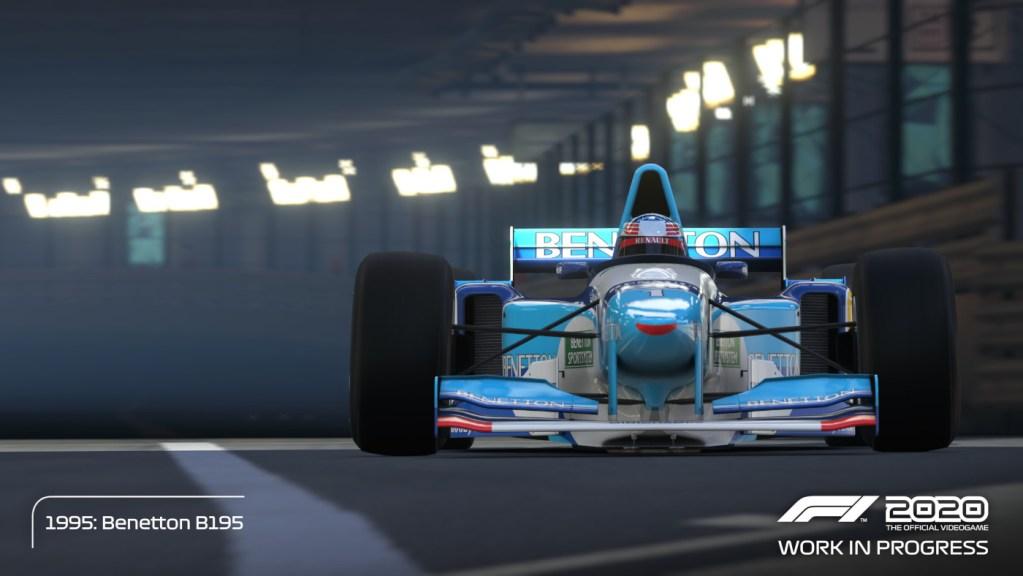 The Michael Schumacher Benetton B195