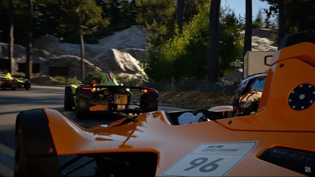 The BAC Mono in Gran Turismo 7