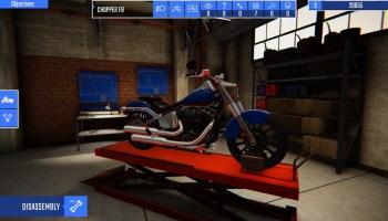 Biker Garage: Mechanic Simulator Is Coming To Consoles