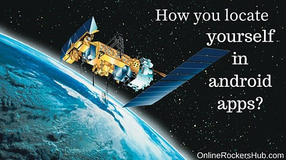 Use GPS satellites to determine location