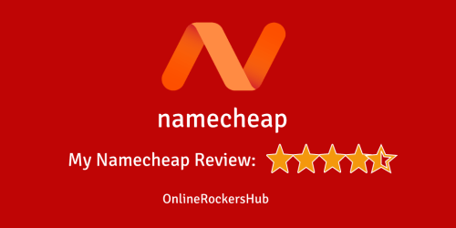 My namecheap review