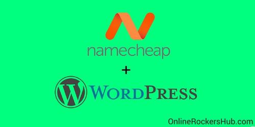 Steps to install wordpress at Namecheap