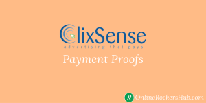 Huge collection of all my Clixsense Payment proofs