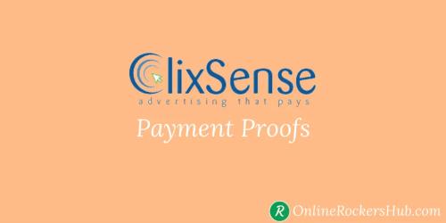 Clixsense Payment Proofs