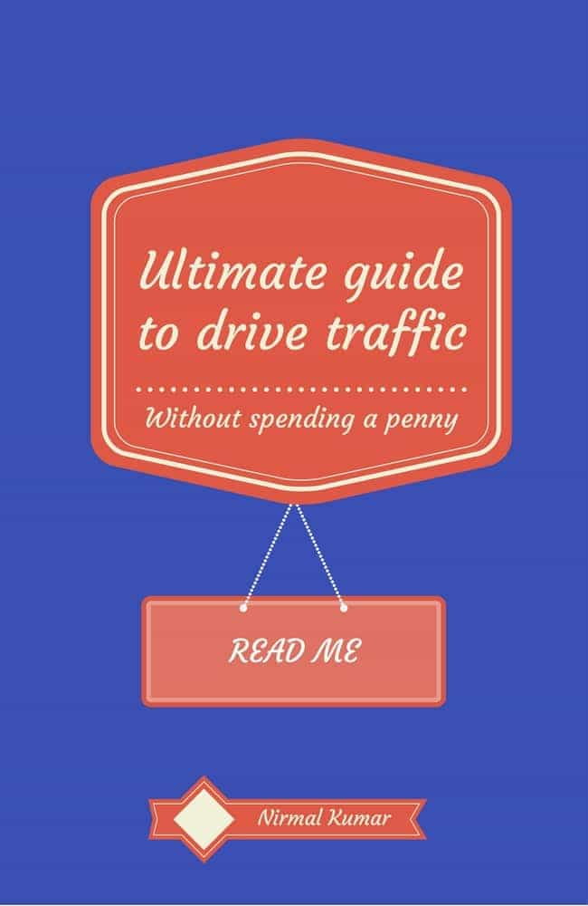 Ultimate GuideTo Traffic to your Website without spending a penny