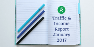 OnlineRockersHub Traffic and Income report for January 2017