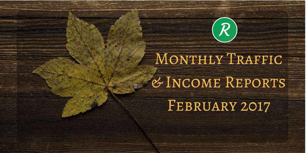 OnlineRockersHub Monthly Traffic and Income Reports - February 2017
